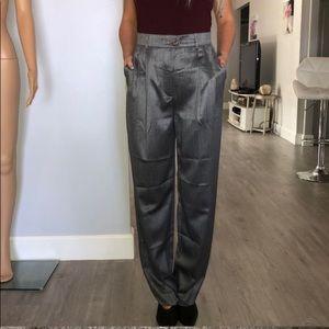 Escada high waist casual wool blend pants